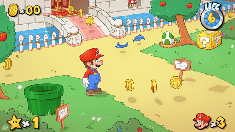 Van a sacar un nuevo juego de Mario. ¿Cómo te gustaría que fuese?