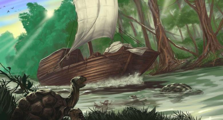 ¿Cuál de los siguientes personajes no es un tripulante de la Doncella Tímida en su viaje a través del Rhoyne?