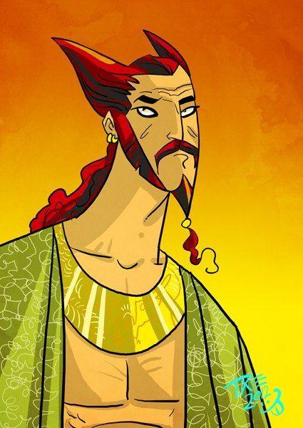 ¿Cuál gladiador no acompaña a Hizdahr zo Loraq en su 7ma audiencia para pedir la apertura de las arenas de combate en Meereen?