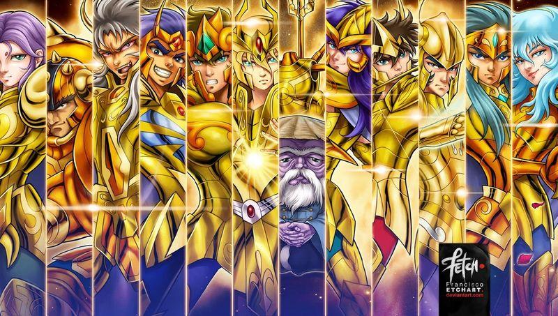 En la batalla de las doce casas. ¿Acorde al manga qué caballeros de oro apoyaban al patriarca pese a saber su identidad?