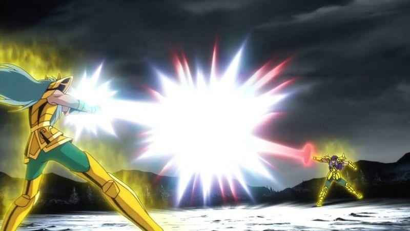 En Next Dimension se encuentran al mismo tiempo tres santos dorados del mismo signo. ¿De qué signo se trata?