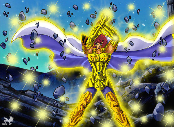 ¿Qué técnica del caballero de oro Aioria es exclusiva del Episodio G?