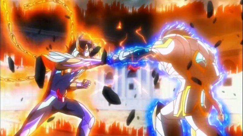 En SS Omega. ¿A quién enfrenta Ikki de Fenix en la lucha final contra Pallas?
