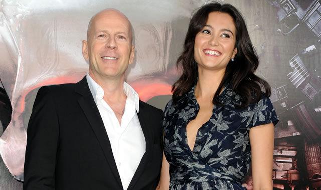 ¿Cuántos años se llevan de diferencia Bruce Willis y Emma Heming?