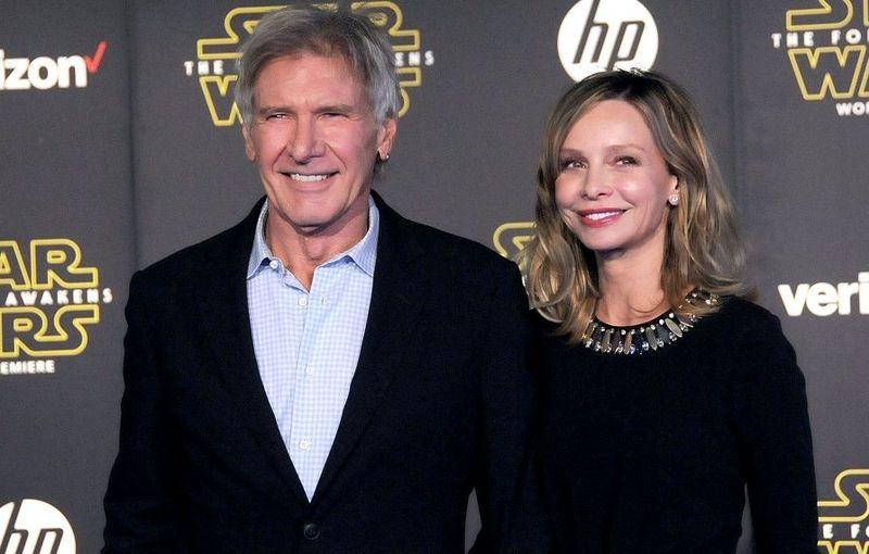 ¿Cuántos años se llevan de diferencia Harrison Ford y Calista Flockhart?