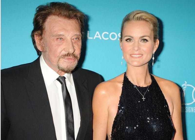 ¿Cuántos años se llevan de diferencia Johnny Hallyday y Laeticia Hallyday?