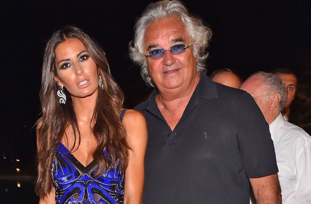 ¿Cuántos años se llevan de diferencia Flavio Briatore y Elisabetta Gregoraci?