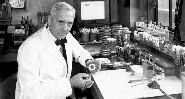 ¿En qué año tiene lugar el Descubrimiento de la Penicilina por Alexander Fleming?