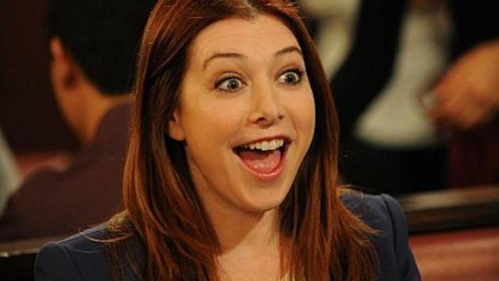¿Mientras Lily estaba embarazada con qué personaje no tiene sueños húmedos?