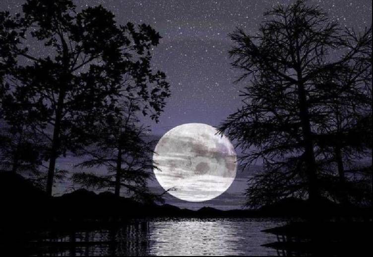 ¿Que sientes cuando miras la luna?