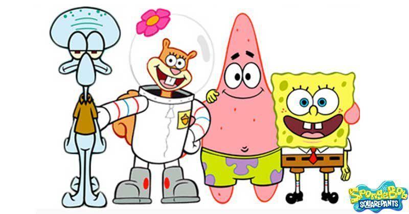 Картинки спанч боба и его друзей для срисовки, клубника картинки смешные