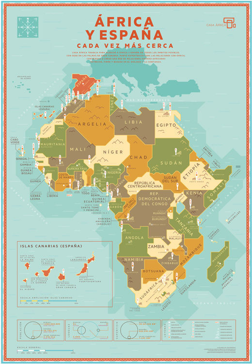 Europa termina en los Pirineos / España es el norte de África.