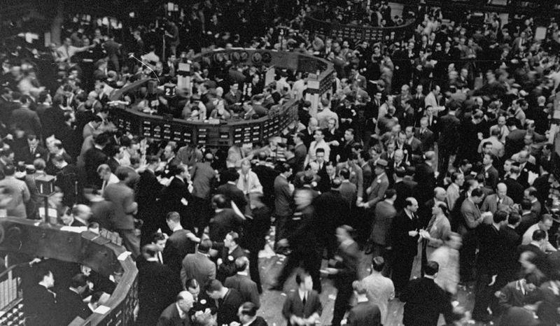 ¿En qué fecha se inicia El Crack del 29 de La Bolsa de Nueva York?