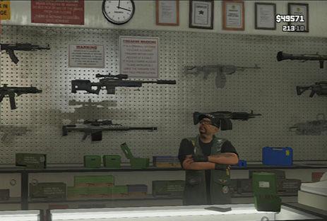 Entras sin problemas, ¿Qué armas decides comprar?