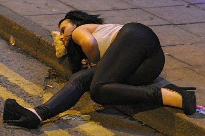 Los británicos son unos alcohólicos.