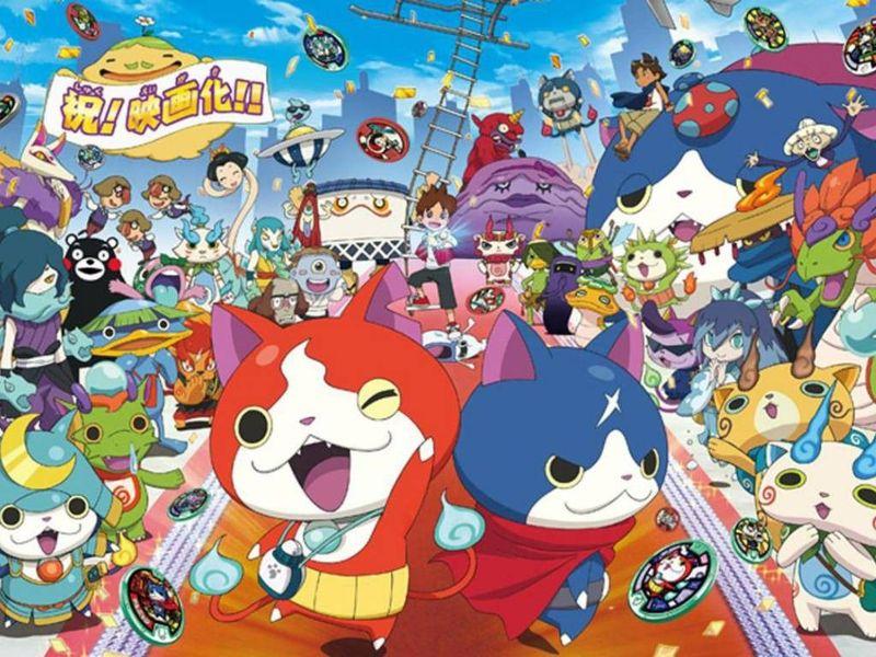 21135 - ¿A cuantos personajes de yo-kai watch conoces?