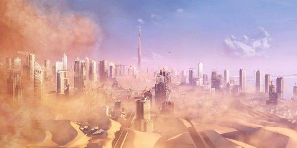¿Cuál era el objetivo al llegar a Dubái?