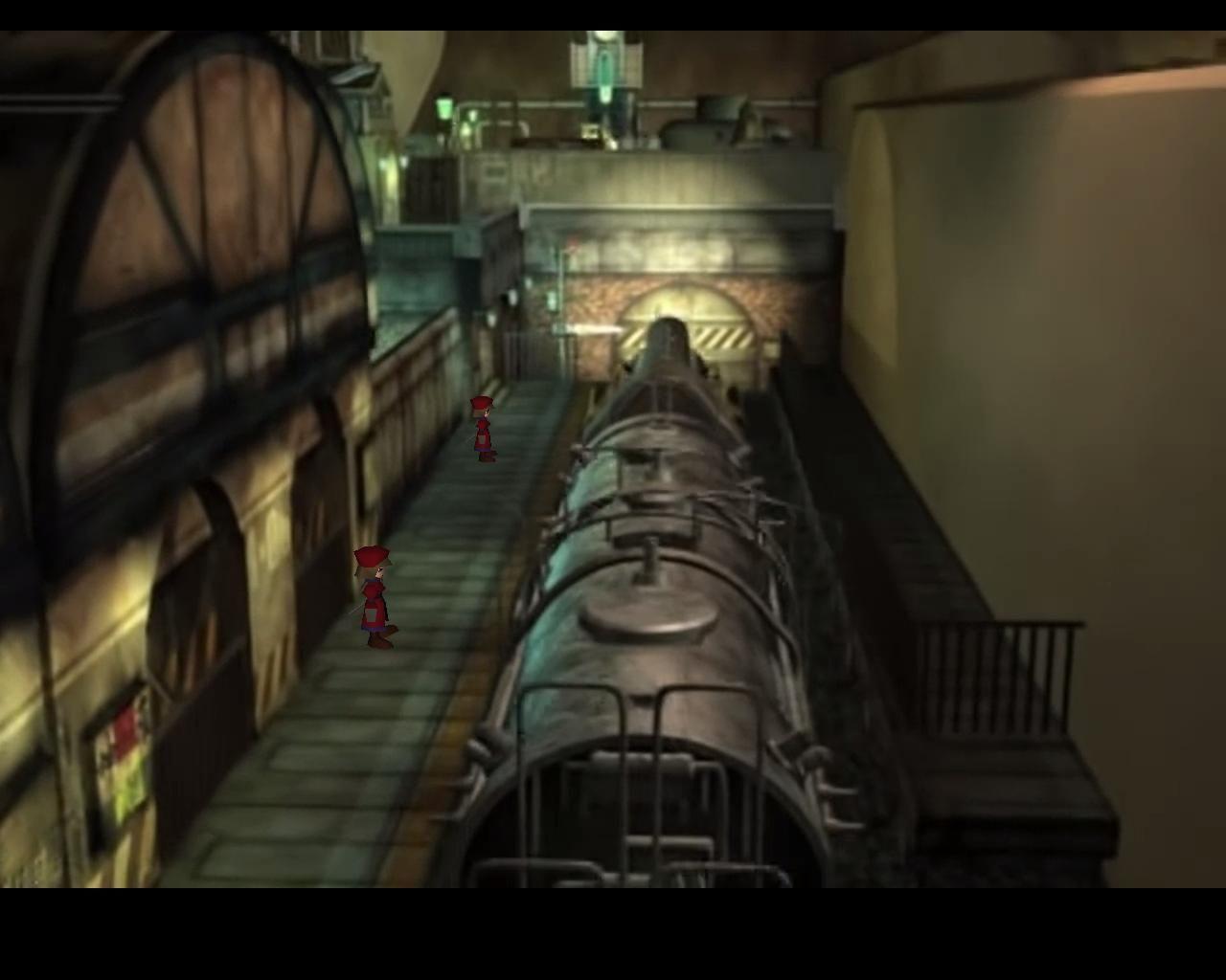 Después de salir del tren ¿cómo se pueden obtener las primeras dos pociones del juego?