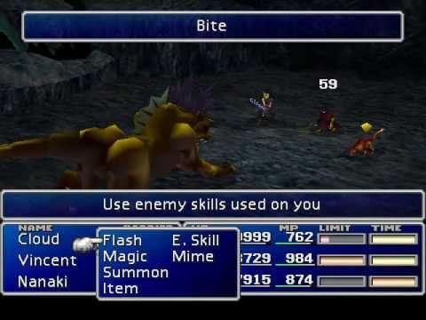 ¿Cuántas materias de Habilidad Enemiga hay en el juego?