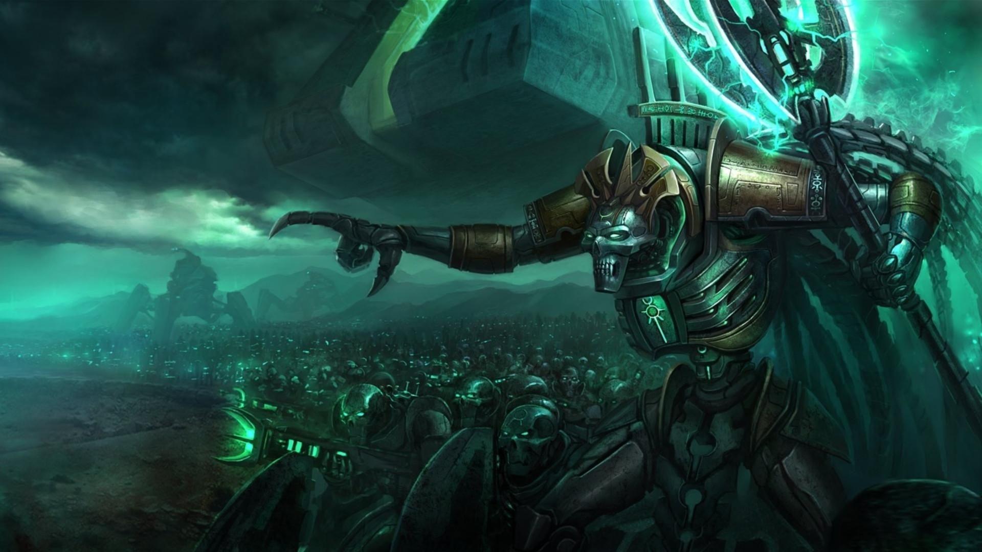¿Quien engañó a los Necrones para que adoptasen su nueva forma de vida?