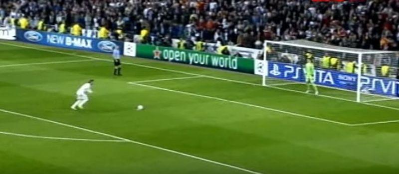 Empecemos con uno reciente y fácil. Sergio Ramos - UEFA Champions League 2011/2012