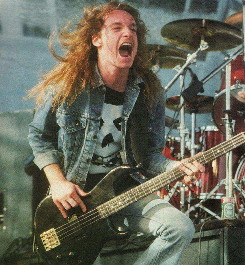 Cliff Burton (Bajista de Metallica)