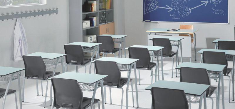 El profesor abre la puerta y te ve. Entras en la clase ¿Dónde te sientas?