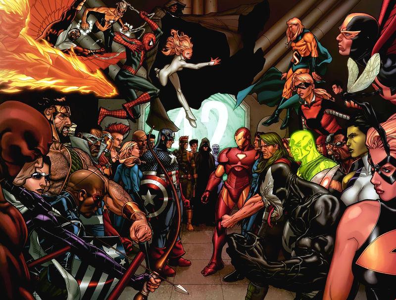 Un conflicto divide a los héroes. El gobierno quiere burocratizar a los superheroes para tenerlos controlados.¿Qué bando apoyas?