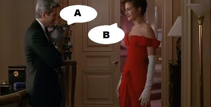 ¿Qué dicen en esta escena en Pretty Woman (1990)?