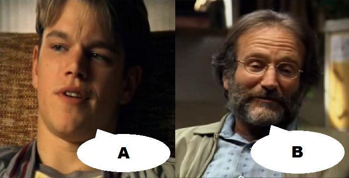 ¿Qué dicen en esta escena en El indomable Will Hunting (1997)?