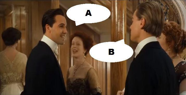 ¿Qué dicen en esta escena en Titanic (1997)?