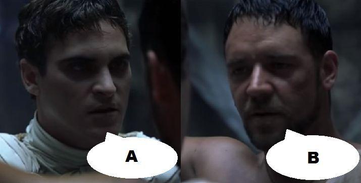 ¿Qué dicen en esta escena en Gladiador (2000)?
