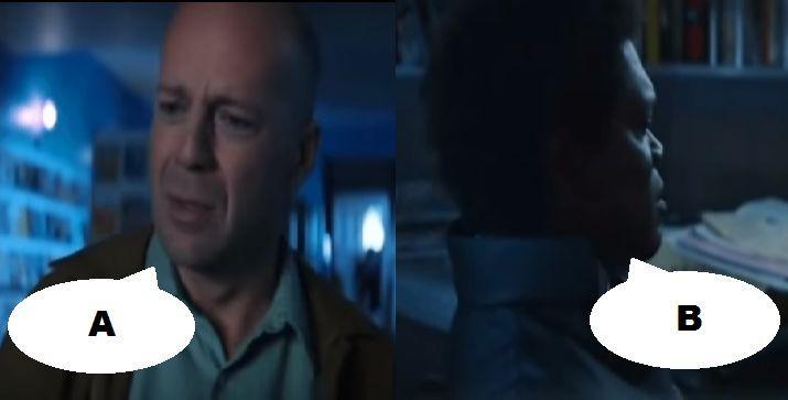 ¿Qué dicen en esta escena en El protegido (2000)?