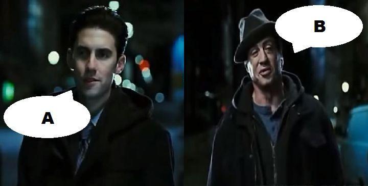 ¿Qué dicen en esta escena en Rocky Balboa (2006)?