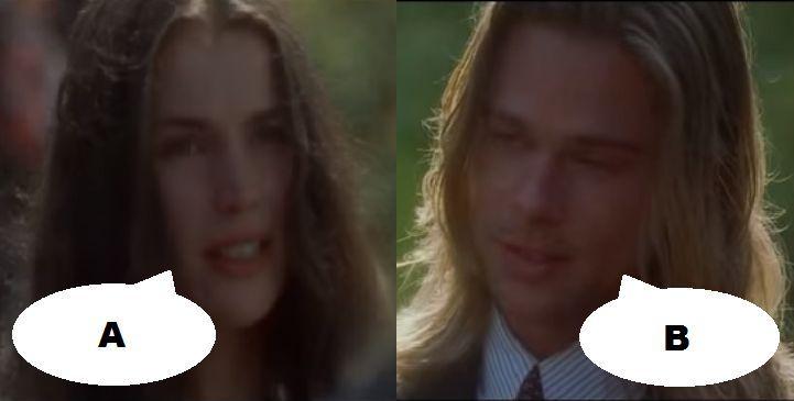 ¿Qué dicen en esta escena en Leyendas de pasión (1995)?