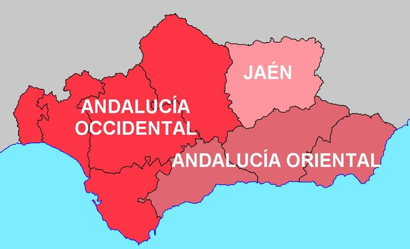 Jaén, ¿es Andalucía Oriental, Occidental, ninguna o ambas?