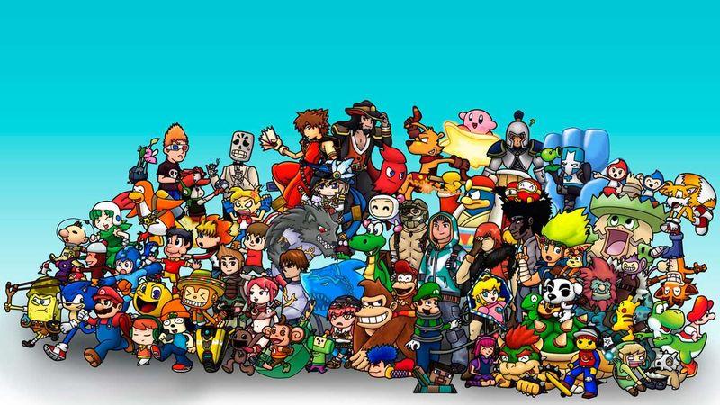 23195 - ¿Puedes reconocer a todos los personajes de estos juegos? (Parodia)