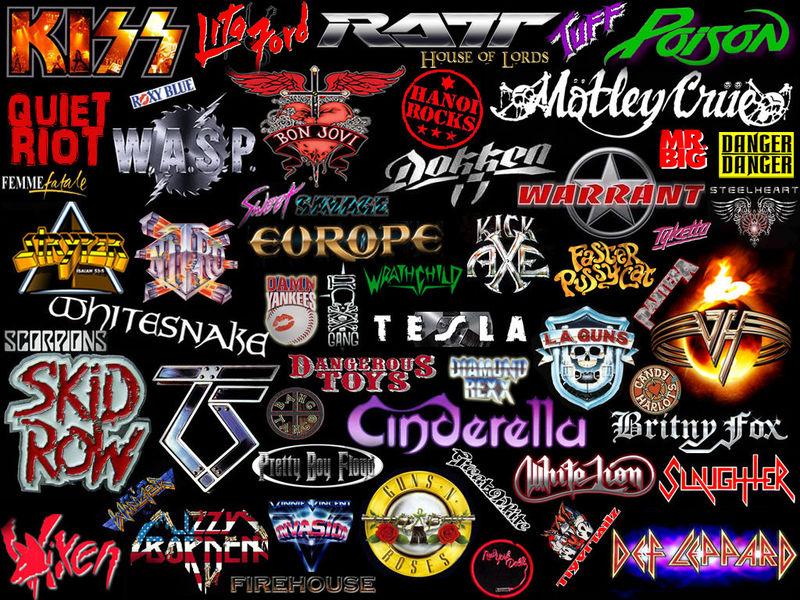 23237 - ¿Sabrías reconocer todas estas bandas de glam?