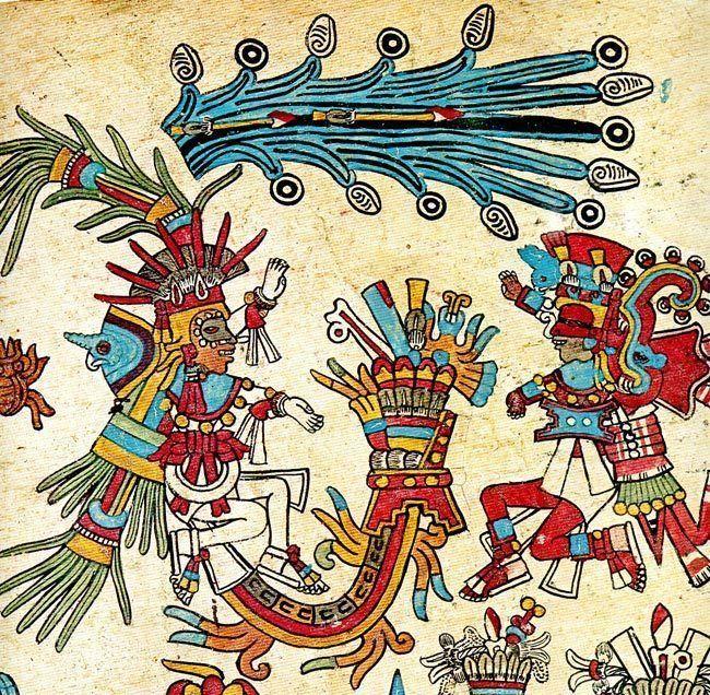 ¿Alrededor de qué árbol los aztecas celebraban a sus muertos?