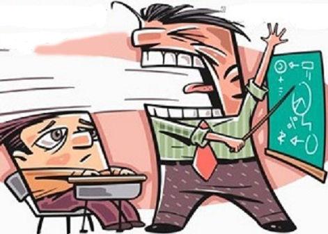 Suena el timbre y tenéis que volver a clase, pero por alguna razón, llegas tarde y el profesor no te deja entrar al aula.