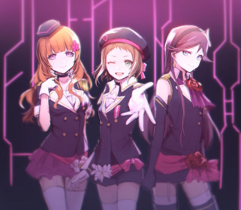 ¡Vuestro grupo de idols rival, A-Raisu, ha hecho acto de aparición! ¿Tu reacción?