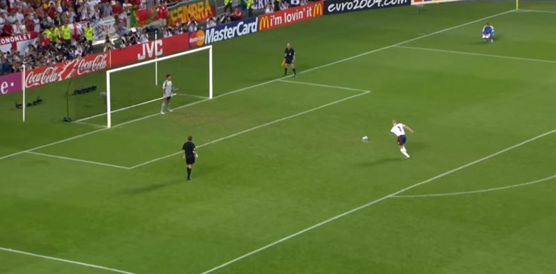 David Beckham - Eurocopa 2004