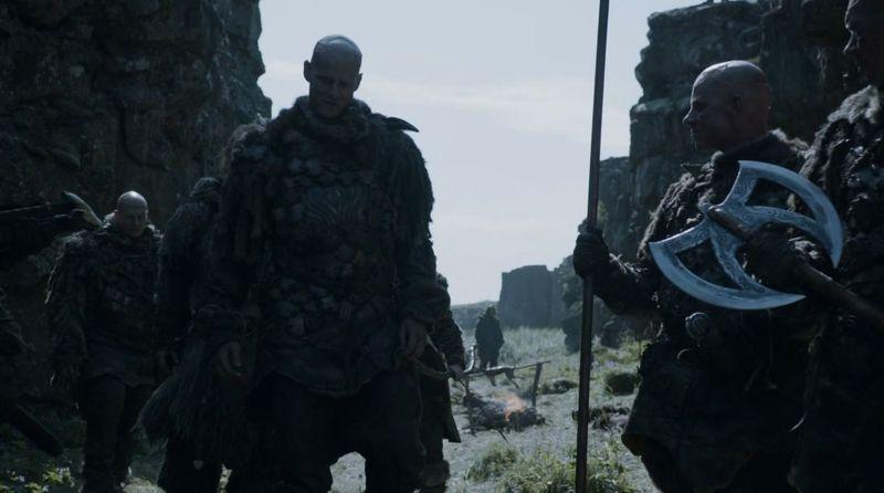 ¿Qué emblema personal usa Sigorn el Magnar de Thenn cuando desposa a Alys Karstark?