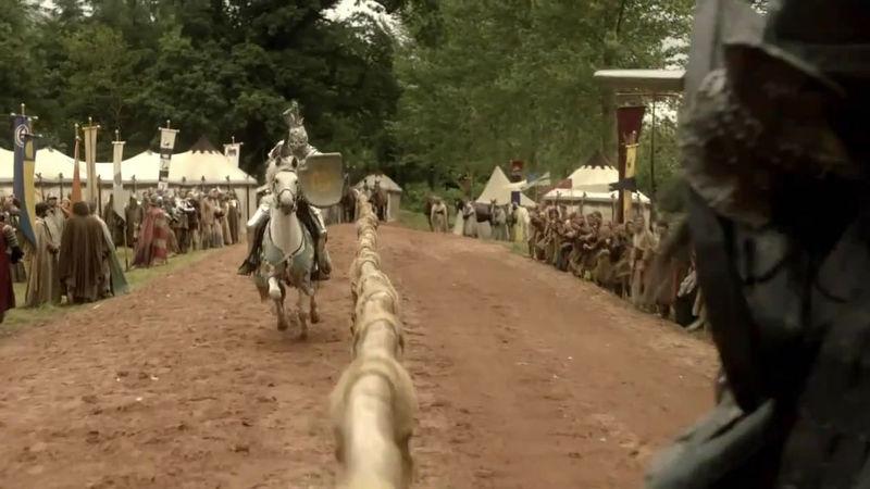Ser Uthor Underleaf vence a Ser Duncan el Alto en el torneo de Murosblancos. ¿Cuál es su emblema personal?