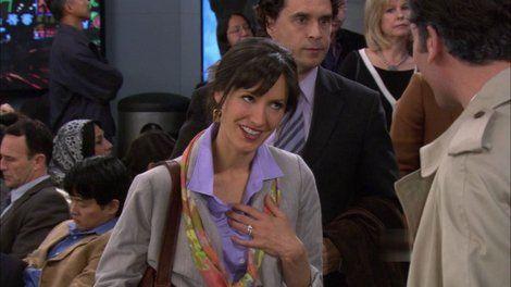 ¿Con quién terminó casándose Wendy la mesera gracias a Marshall?