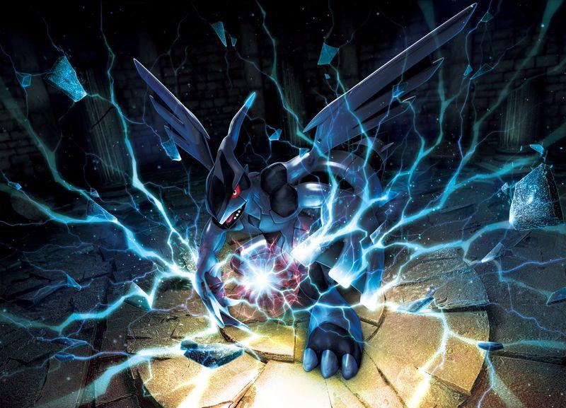 Zekrom ha venido para teñir de negro nuestra realidad con sus ideales. Y ademas ha hecho 6 danzas dragón.