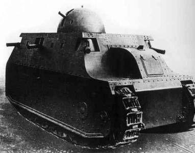 Pasamos al periodo Interbellum, en el cual se experimentó mucho y los tanques empezaron a ver más acción. ¿Donde luchó este?