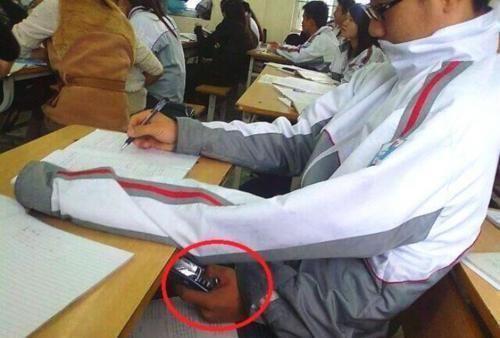Tus compañeros te lo agradecen mucho. Te dejan copiarte de ellos en el examen.