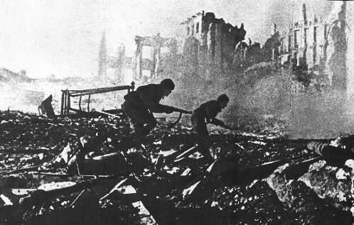 El Alto Mando Alemán ha decidido enviarte a la batalla de Stalingrado.