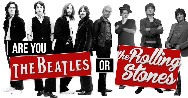 Pasemos al rock clásico de los 60, ¿os quedáis con The Beatles o con The Rolling Stones?